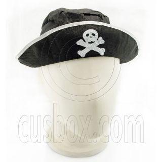 Pirate Captain Head Scarf Cap Hat Toddler Fancy Costume