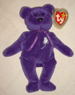 Ty Beanie Baby Princess Diana PE China 1997
