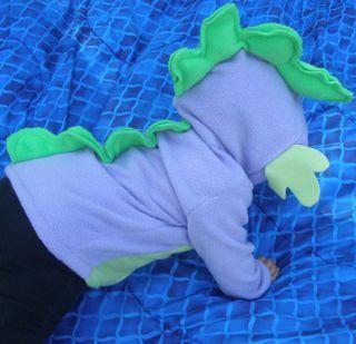 Spike My Little Pony Custom Plush Hoodie Jacket MLP FIM Cosplay Adult or Kids