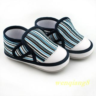 New Infant Toddler Baby Girl Boy Soft Sole Crib Shoes Age 6 to 18 Months F Gift