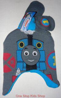 Thomas The Train Toddler Boys Winter Set Hat Mittens Cap Gloves Tank Engine