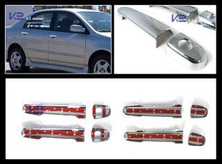 2003 2006 Toyota Corolla Camry Chrome Door Handle Covers Trim