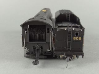 DTD HO Bachmann 41 0658 A4 N w 608 4 8 4 Steam Engine Norfolk Western