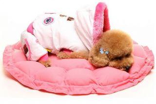 5Colors Pink Pet Puppy Dog Cat Soft Pet Bed Sleeping Bag Warm Cushion Pillow