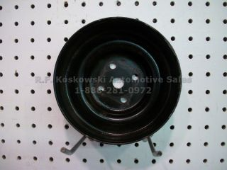 Water Pump Pulley Chevy GMC Pickup Truck SUV 10085760AAY