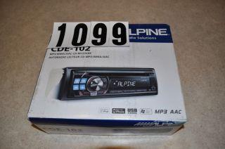 Alpine CDE 102 USB CD  Car Stereo Player