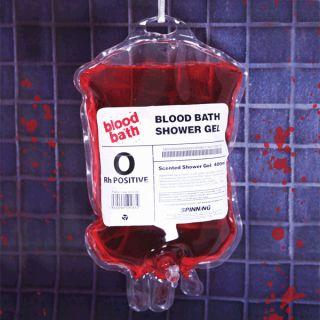 Blood Bath Shower Gel Soap Horror Zombie Gothic Punk Rockabilly Retro Splatter
