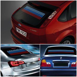 New Car Auto Sticker Music Rhythm LED Flash Light Lamp Sound Activated Equalizer