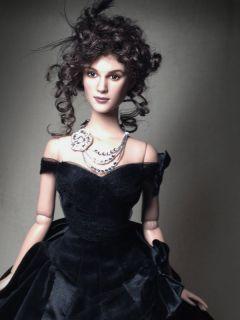 OOAK Keira Knightley Anna Karenina Inspired Tonner Doll Repaint Art