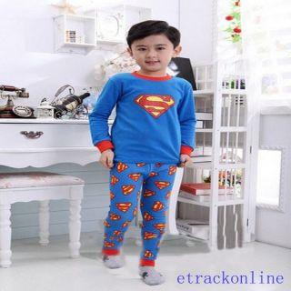 Baby Toddler Kid's Boys Girls Several Style Sleepwear Pajama Set Pant Size 2T 7T