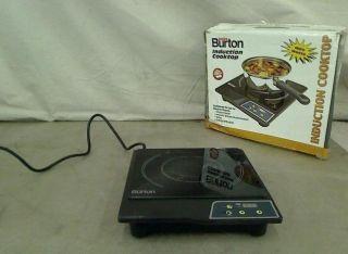 Max Burton 6000 1800 Watt Portable Induction Cooktop