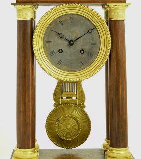 Antique German Wall Clock at 1900 R A Pendulum