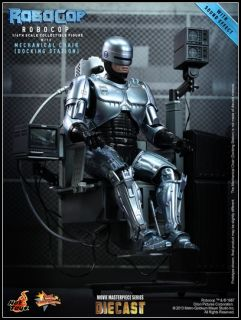 1 6 Hot Toys MMS203D05 – Robocop with Mechanical Chair Alex Murphy Diecast