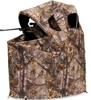 Wild Game Ameristep Tent Chair Blind for Hunting Deer Turkey Am 2182 Camo Cover