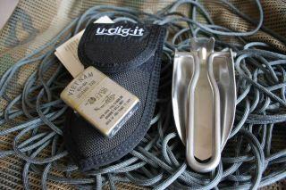 U Dig It Camping Folding Shovel Spade Entrenching Tool