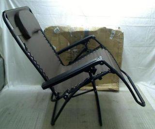 ... Caravan Canopy Oversize Zero Gravity Chair Brown ...