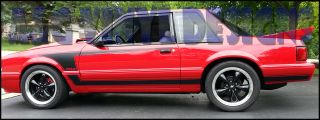 302 Side Stripe Kit Vinyl Decal Sticker Fits 1987 1993 Mustang A