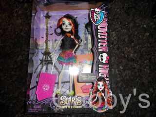 Monster High Scaris Skelita Calaveras Daughter Los Eskeletos New in Hand