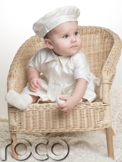 Baby Boy Baptism Suit