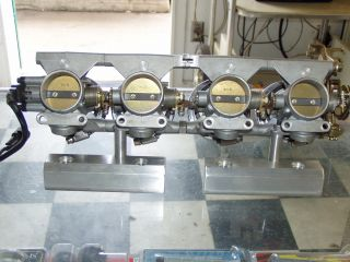 GSXR 1100 Oil Cooled Custom 38mm Throttle Bodies Fuel Injection Megasquirt