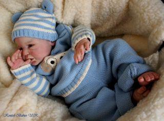 KB Reborn Skylar Prototype Oh So Real Baby Boy Doll Such A Cutie