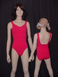 Watermellon Leotard Ballet Gymnastic Dance Costume Size Choice
