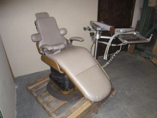 PELTON Crane Model cm The Chairman Dental Exam Chair w Delivery System