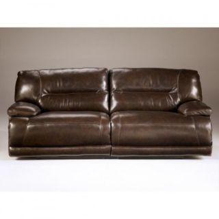 Ashley Hogan 2 Seat Recliner Sofa Mocha 5780281