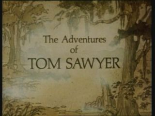 The Adventures of Tom Sawyer DVD 1986 Animation Classics RARE UK Promo R2