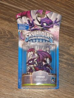 New Spyro's Adventure Skylanders Cynder Game Figure Pack PS3 Wii Xbox 360 DS