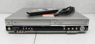 Panasonic DMR ES46V VHS DVD Recorder Player