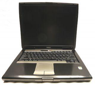 """Dell Latitude D520 15"""" Laptop 1 66GHz Core Duo 1GB PC2 4200 40GB DVDRW"""