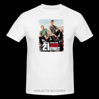 21 Jump Street V5 Movie T Shirt Jonah Hill Channing Tatum Poster DVD Blu Ray