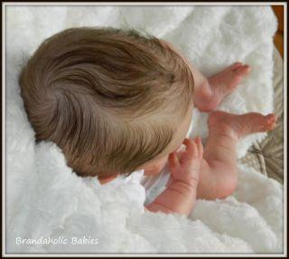 Brandaholic Babies Reborn Newborn Baby Boy from Rosie by Olga Auer Sculpt