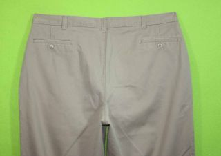 JC Penny Sz 42 x 32 Mens Beige Khakis Chinos Pants Slacks 3B26