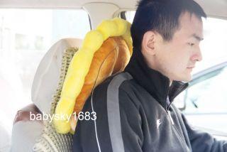 Creative Cute Cartoon Plush Office Chair Lumbar Auto Car Seat Headrest Pillow