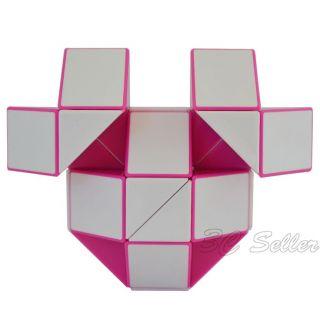 New 36 Sections Foldable Color Snake Rubik Magic Ruler Magic Cube Jigsaw Puzzle