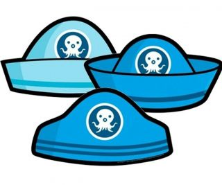 Octonauts Birthday Party Supplies Pack of 6 Printed Cardboard Party Hats Favors