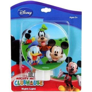 Disney Mickey Friends Clubhouse Colorful Nightlight