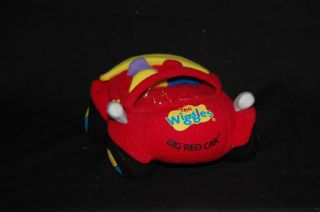 """6"""" Plush The Wiggles Big Red Car Beanie Convertible Toy"""
