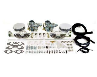 VW Type 2 4 914 Bus 34mm Dual Carb Kit Empi EPC ICT
