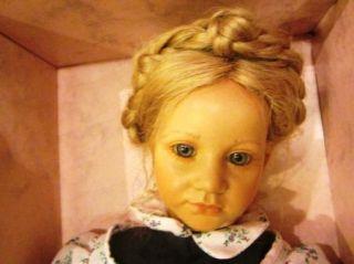 Amazing Annette Himstedt Barefoot Series Doll Ellen in Original Box Large Eyes