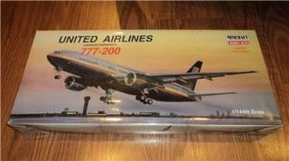 United Airlines 777 200 Minicraft 1 144 Scale New