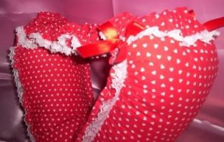 Adult Baby Sissy Valentine Waddle Dress Up Diaper