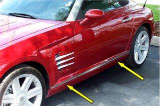 Chrysler Crossfire Stainless Body Trim Kit Acc CFBT105