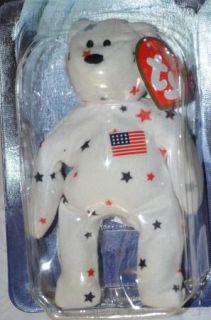 JB Ty Ronald McDonald House Charities Glory The Bear Beanie Baby 1998 New NIP