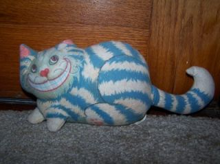 VTG 1988 Armand Eisen Cheshire Cat Michelle Wiggins Toy Alice in Wonderland881