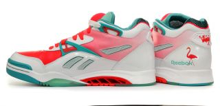 Reebok Pump Court Victory II Miami Vice Mens Shoes UK 7