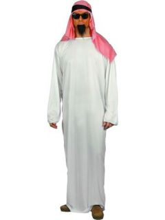 Mens Arab Arabian Sheikh Fancy Dress Costume Large