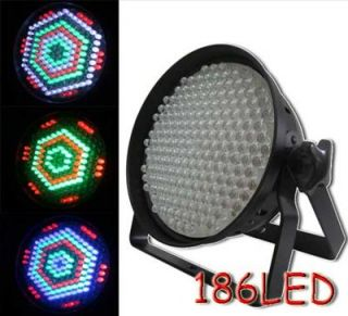Lights RGBW 186 LED Par DMX512 8 Channel Stage Light for Stage Light DJ Show